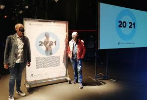 Presentación de la nueva programación del teatro.