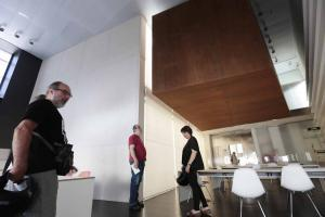 La cámara acorazada del Centro Lorca aguarda el legado.
