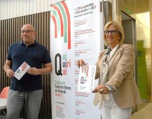 Presentación del Festival de Títeres 'Quiquiriquí'.