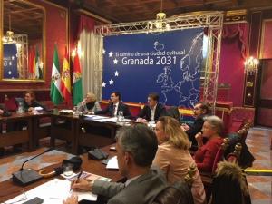 Reunión de la comisión de la Capitalidad.