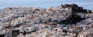Vista de Salobreña.