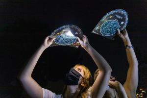 Una de las actividades de astronomía.