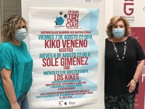 Belén Sánchez y Fátima Gómez.