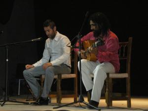 'Tomate de Montefrío', en una de sus últimas actuaciones.