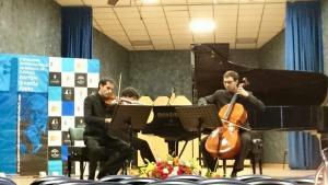 El trío Pedrell, de Barcelona, ganador del IV Concurso internacional de Música de Cámara Antón García Abril.