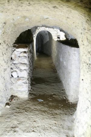 Imagen de las galerías de los túneles de Baza.