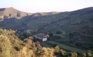 Valle del Río Darro con la Hacienda Jesús del Valle al fondo.