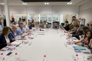 Reunión de Consejo Rector del Consorcio que gestiona el museo.