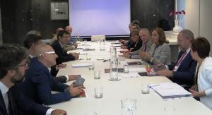 Un momento de la reunión de trabajo celebrada en Madrid.