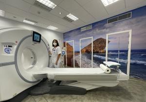 Nuevo TAC instalado en el Hospital de Loja.