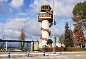 Instalaciones del aeropuerto granadino.