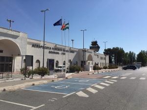 Imagen de archivo del Aeropuerto de Granada.