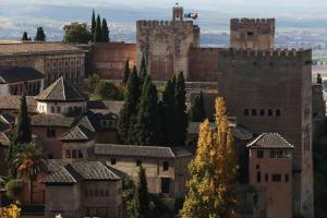 Espectacular imagen de la Alhambra.