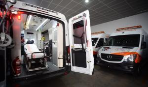 Imagen de archivo de ambulancias.