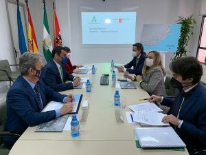 Reunión de los representantes de Fomento de Andalucía y Murcia.