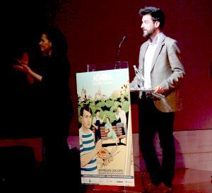 Antonio Gómez, galardonado como mejor investigador.
