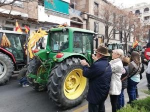 Manifestación del pasado 19 de febrero en la capital.