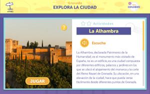 Captura de pantalla de la propuesta para Granada.