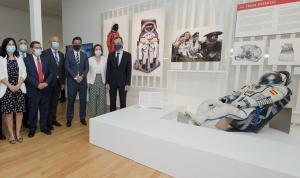 El traje de astronauta de Pedro Duque ya está expuesto.