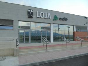 Estación de tren de Loja.