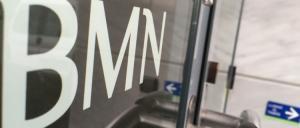 Entrada a una oficina de BMN.