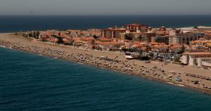 Foto aérea de Calahonda.