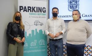 Presentación de la iniciativa de aparcamiento gratuito.