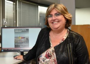 Ana Muñoz, diputada de Empleo y Desarrollo Sostenible.