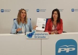 Marifrán Carazo y Ana Vanessa García.
