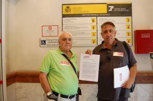Ricardo Flores, junto a Pepe Llorens.