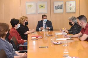 Reunión entre la Diputación y CEHVAL.