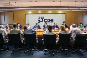Junta directiva de la CGE.