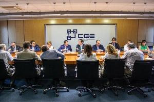 La patronal Cepyme mostró recientemente su apoyo al acelerador de partículas en una reunión de su junta directiva en Granada.