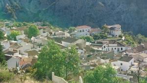 Vista de Cónchar, en el Valle de Lecrín.