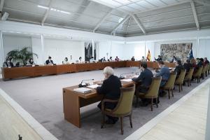 Reunión del Consejo de Ministros de este martes.