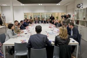 Imagen del Consejo Rector de diciembre de 2016, cuando se inició el cambio de los estatutos.