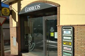 Oficina de Correos en Pulianas.