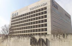 Edificio conocido como el 'Cubo'.