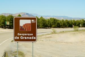 Señalización del Geoparque.