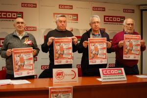 Presentación de la campaña de movilizaciones.