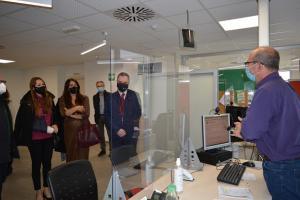 Inauguración de la nueva oficina de empleo.