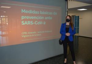 La delegada de Empleo, Virginia Fernández.