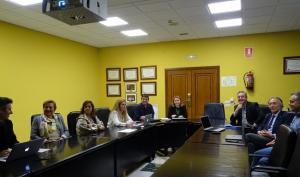 Reunión con la viceconsejera y la nueva directora de la EASP.