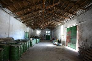 Interior del edificio donde se instalará.