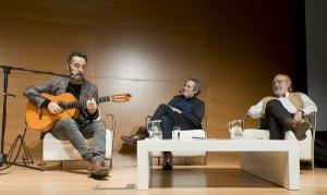 Jorge Drexler, Miguel Ríos y Juan Manuel García Ruiz.
