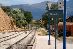 Estación de Guadix.