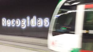 El Metro, en la estación de Recogidas.