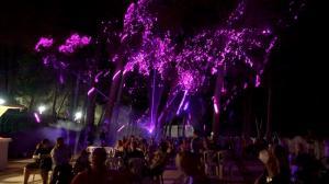 El espectáculo congregó a numeroso público en la Acequia Toril.