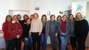 Personal y usuarias de Andalucía Orienta en la Alpujarra.