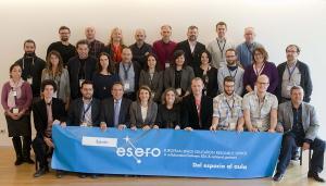 Delegados de las oficinas Esero reunidos en Granada.
